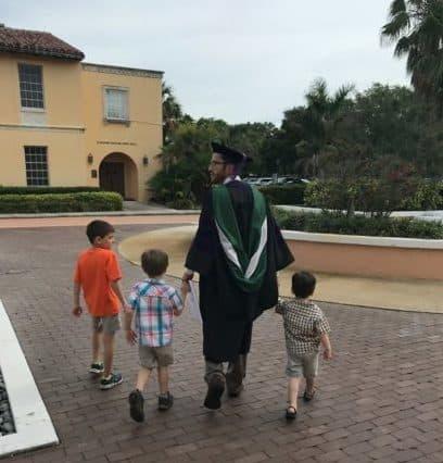 Roland Boyd graduation from law school