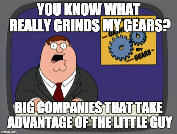 grinds my gears rant